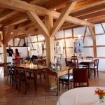 Gastraum der Mosesmühle von Freitag-Sonntag geöffnet